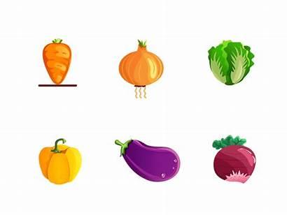 Dribbble Vegetables