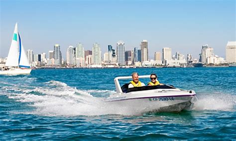 San Diego Boat Tours Groupon by San Diego Speed Boat Adventures In San Diego California