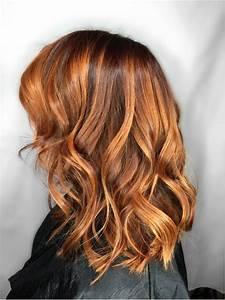 Ombré Hair Cuivré : 20 meilleures id es balayage pour cheveux roux et en ~ Melissatoandfro.com Idées de Décoration