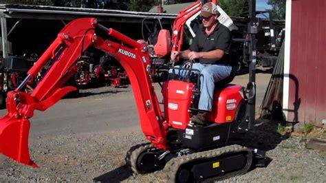 kubota   excavator  hydraulic thumb youtube