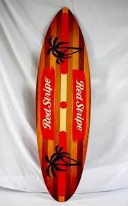 Corona Extra Parrot Party Malibu Style Surfboard