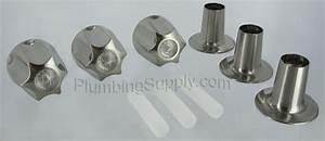 Brushed Nickel TubShower Trim Kits For Delta Valley