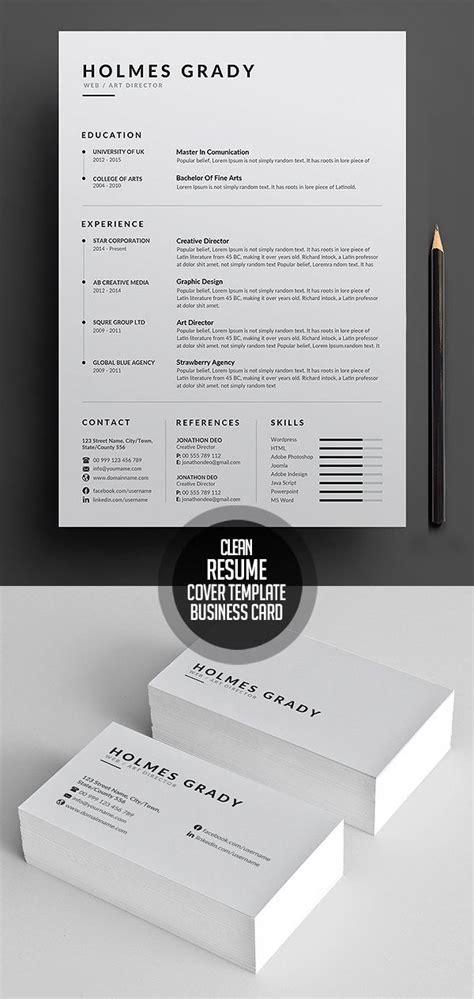15010 clean simple resume best 25 cv template ideas on