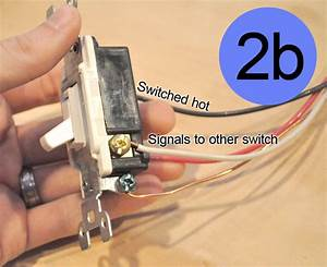 How To Convert A Regular-switched Circuit To A 3-way