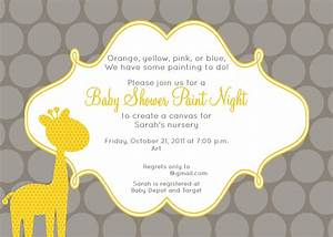 Template : African American Baby Shower Invitations