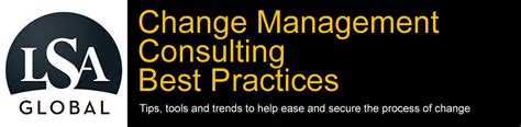 change management consulting  practices