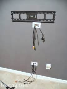 Hiding TV Cords Wall Mounted