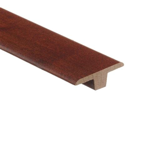 maple t molding zamma maple cherry 3 8 in thick x 1 3 4 in wide x 94 in length hardwood t molding