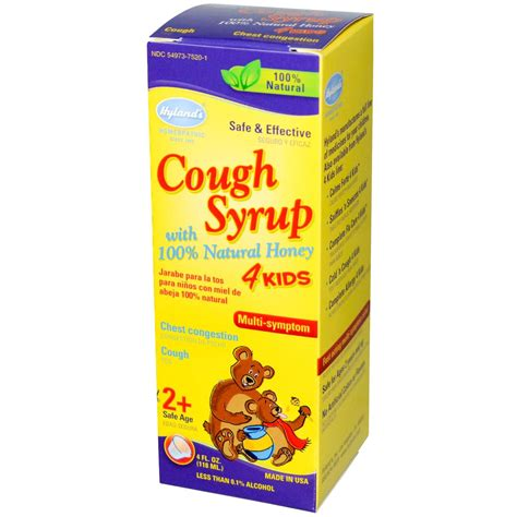 354973752412 upc cough syrup with 100 natural honey