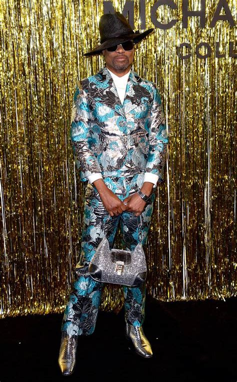 Billy Porter From See Every Celebrity Fashion Week