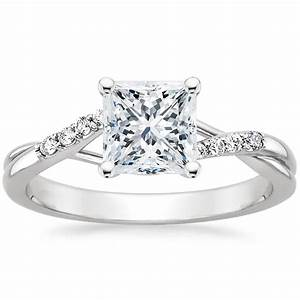 6 stunning princess cut engagement rings brilliant earth With wedding rings princess cut
