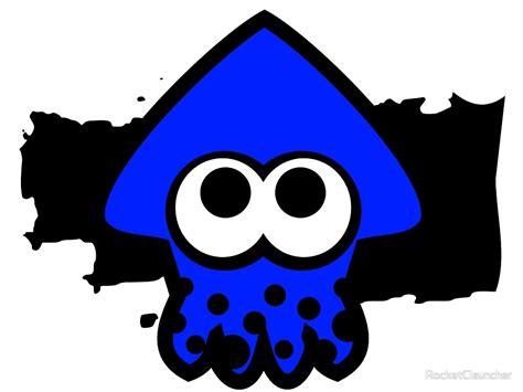 quot splatoon squid dark blue quot by rocketclauncher redbubble