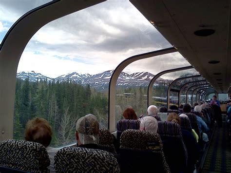 escape  alaska  glass train ride   alaskan