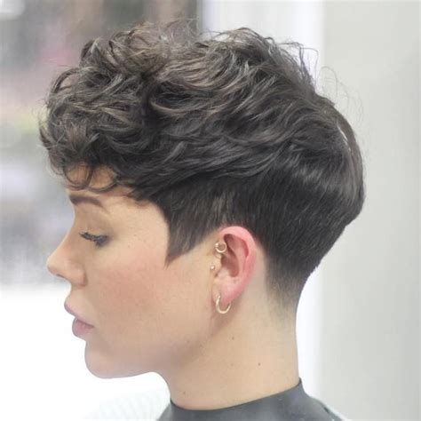 Pixie Hairstyles For Thick Curly Hair by Pixie Haircuts For Thick Hair 50 Ideas Of Ideal