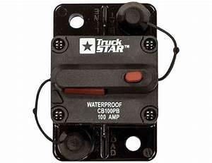 Circuit Breaker 100 Amp Manual Trip Push