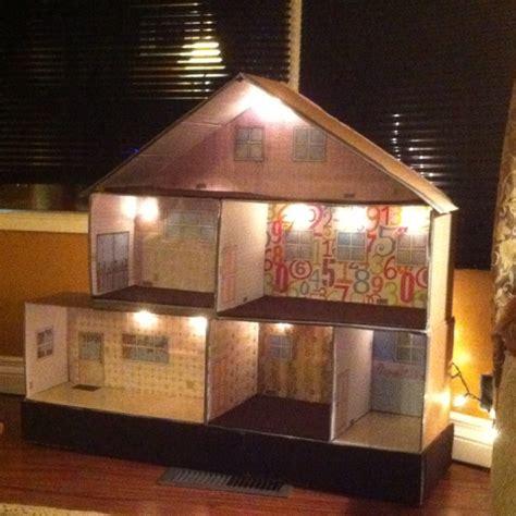 plans   dollhouse   cardboard boxes