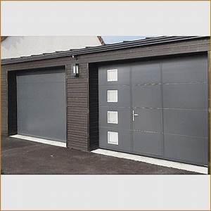 Porte De Garage Leroy Merlin Sur Mesure : leroymerlin porte de garage sectionnelle maison travaux ~ Melissatoandfro.com Idées de Décoration