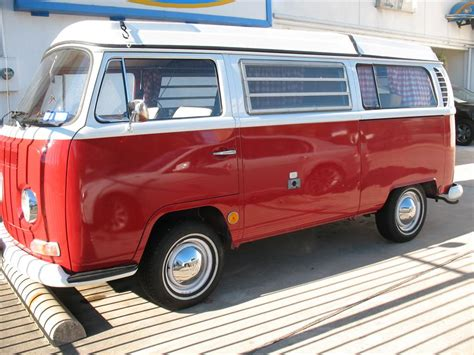 volkswagen bus front red vw bus bay window in dallas texas driver side front