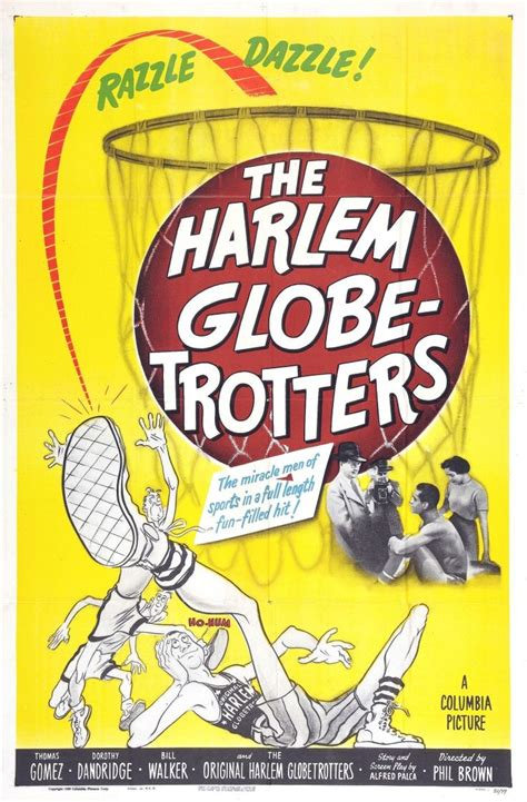 harlem globetrotters  vintage  posters
