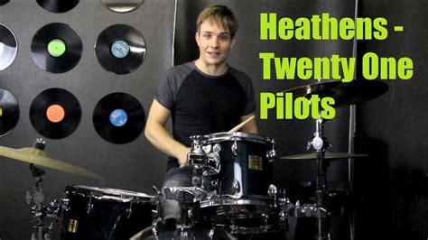 heathens drum tutorial twenty  pilots youtube