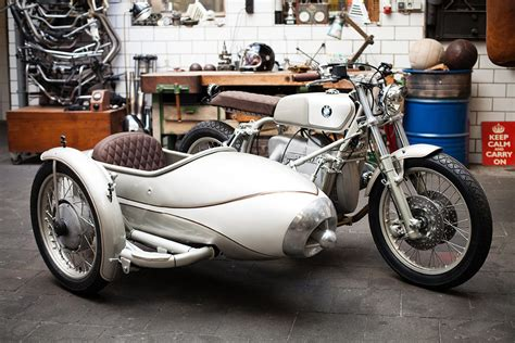 Bmw With Sidecar by Bmw R80 Sidecar Motorcycle By Kingston Custom Hiconsumption