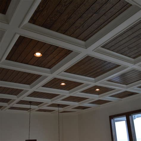 ceiling beams with recessed lights 2017 coffered ceiling cost guide how much to install