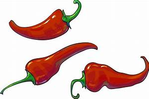 3 Red Pepper Vector Illustration Free Download