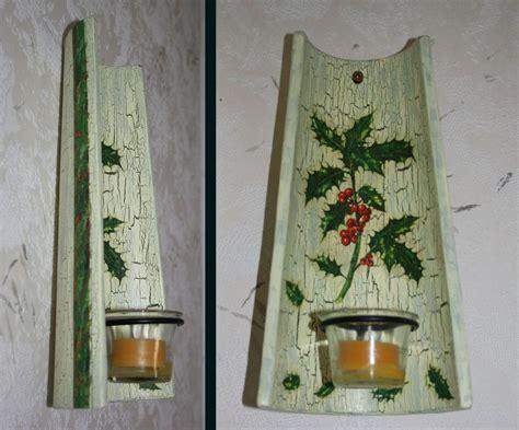 Arbeiten Mit Krakelierlack by Wandkerzenhalter Krakelierlack Kerzen