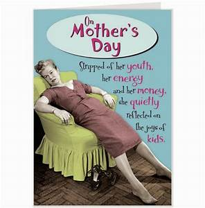 Funny Mothers Day Cards Humorous Greetings Son