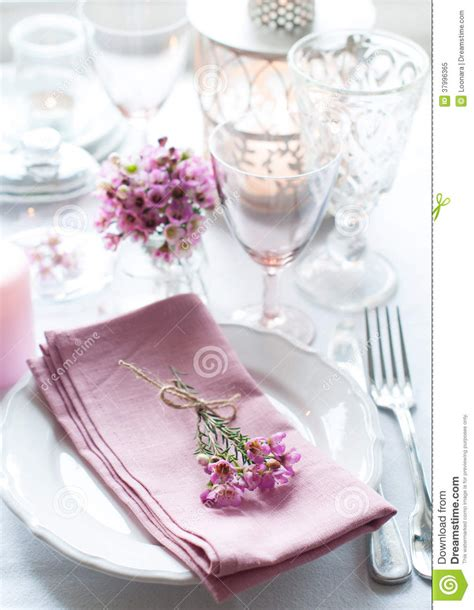 festive wedding table setting stock image image