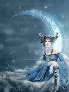 Moon Goddess Art