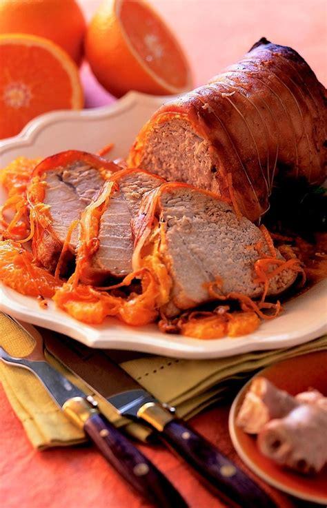 cuisiner du veau en morceau rôti de veau à l 39 orange recettes de cuisine la viande fr