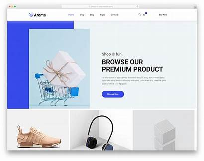 Template Website Templates Aroma Colorlib Shopping Using