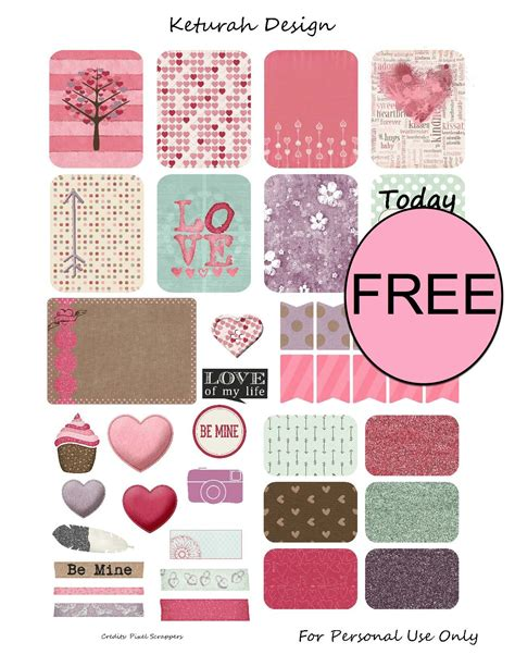 Chinese valentines day valentine hearts round frame free download love round border round border hand drawing big picture. FREE Valentine's Day Printable Planner Stickers!
