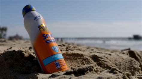 Banana Boat Sunscreen Blisters by Health Canada Finds No Problems In 27 Sunscreens After