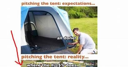 Camping Fails Fail Hilarious Meme Tent Guff