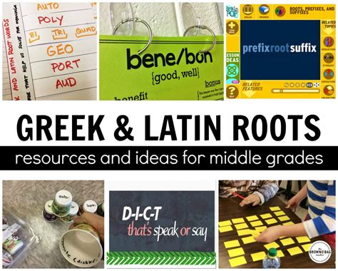 Greek And Latin Roots  The Brown Bag Teacher