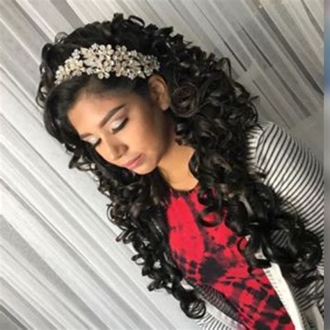 quinceanera hair  makeup  quinceanera planning