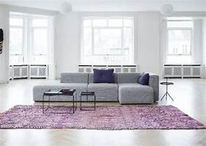 tapis violet gris chaioscom With tapis shaggy avec canapé bleu gris