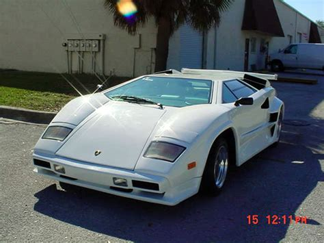 lamborghini countach  replica built  ifc