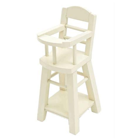 chaise bébé en bois maileg chaise haute bébé en bois