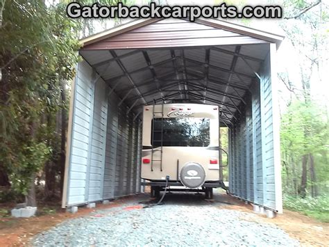 Rv Carport by Rv Carports Rv Covers Rv Garages Gatorback Carports