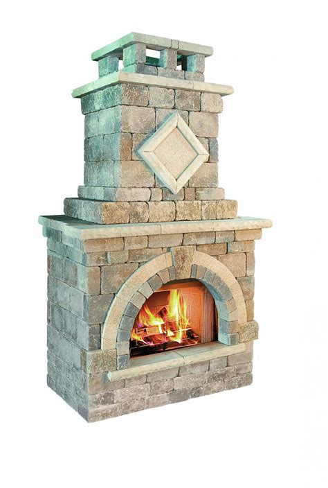 unilock fireplace kits barcelona outdoor fireplace kits outdoor living