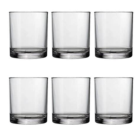 Plastic Barware by Acrylic Glasses