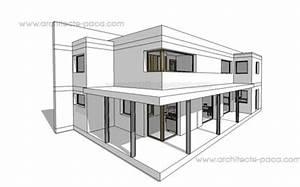 logiciel dessin maison gratuit 10 plan de maison With logiciel plan 3d maison 11 maison d architecte contemporaine maison moderne