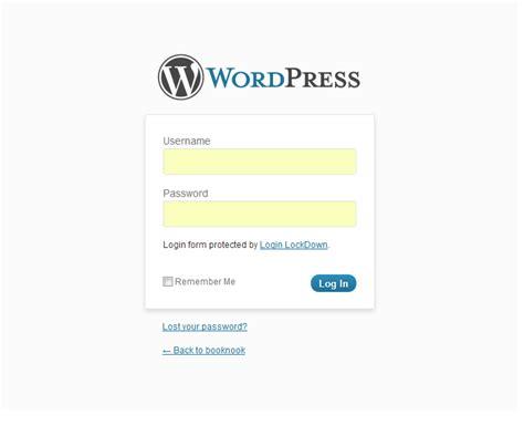 Custom Wordpress Login Page • Nose Graze