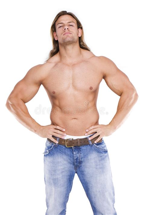 male body athletic builder royalty free stock images