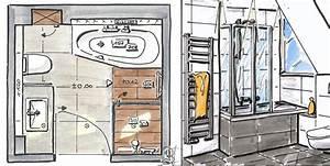 Kleines Badezimmer Planen : badezimmer 5 qm planen ~ Michelbontemps.com Haus und Dekorationen