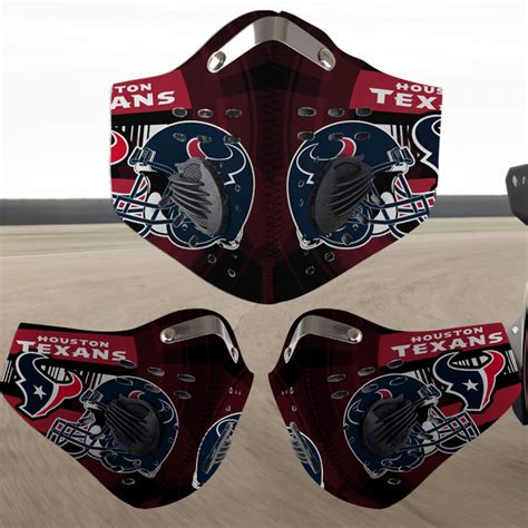 houston texans filter face mask