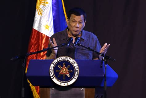 He has been comparable to fellow authoritarian populist lunatics donald trump and jair bolsonaro for inappropriate remarks and being an outright dickhead. Philippines president Rodrigo Duterte claims '40 percent' of rebels are gay